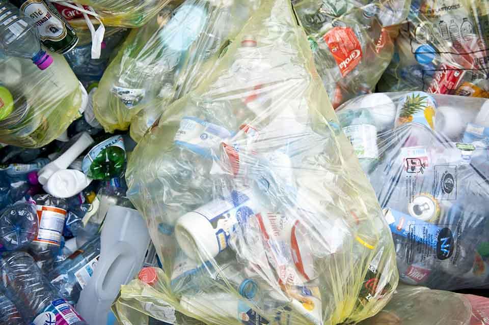 déchets plastique